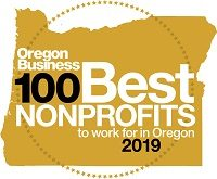 Oregon Business 100 Best Nonprofits to Work For in 2019 Award